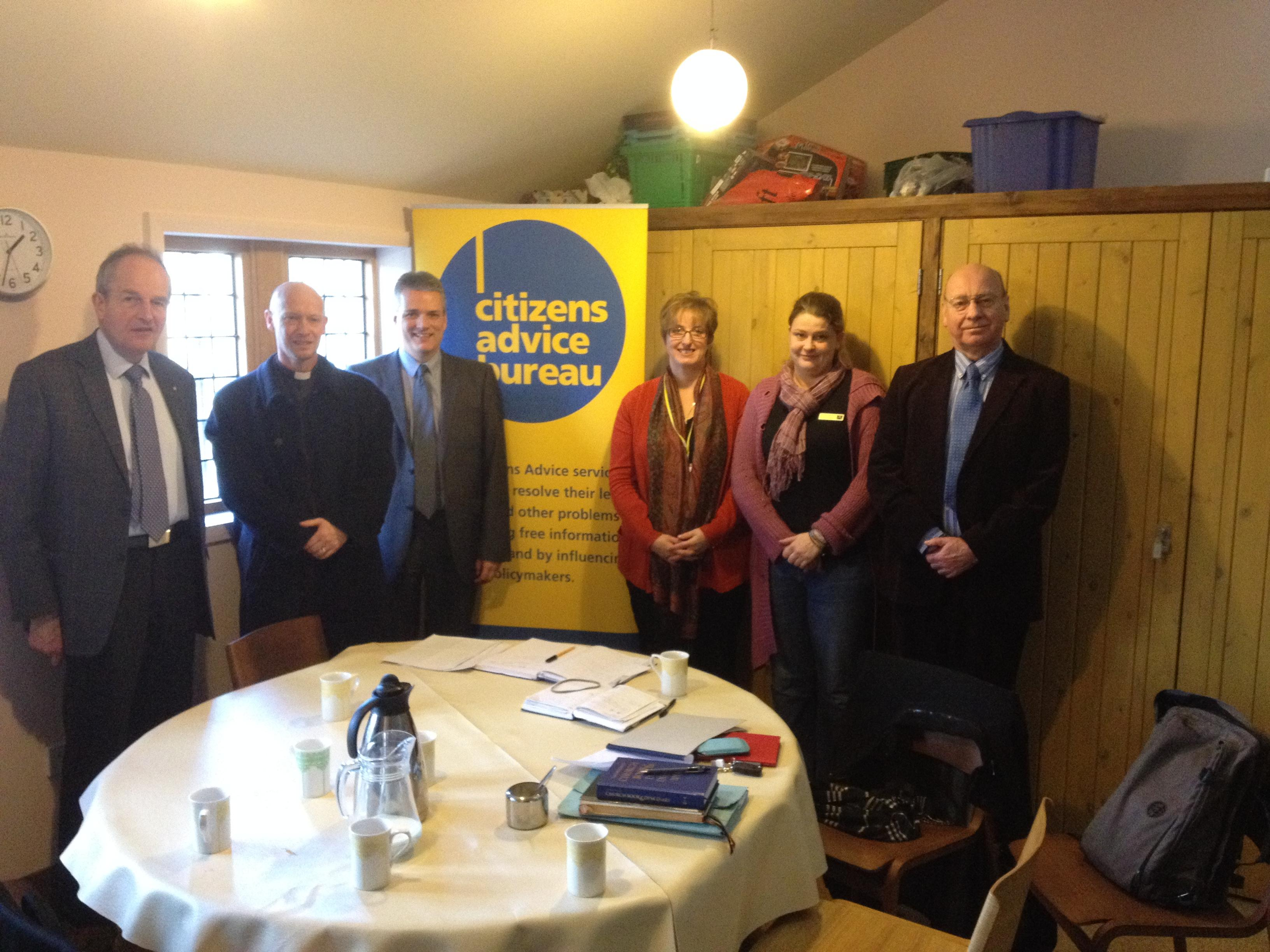 st bartholomew s and citizens advice bureau working together thanks to support from town council. Black Bedroom Furniture Sets. Home Design Ideas